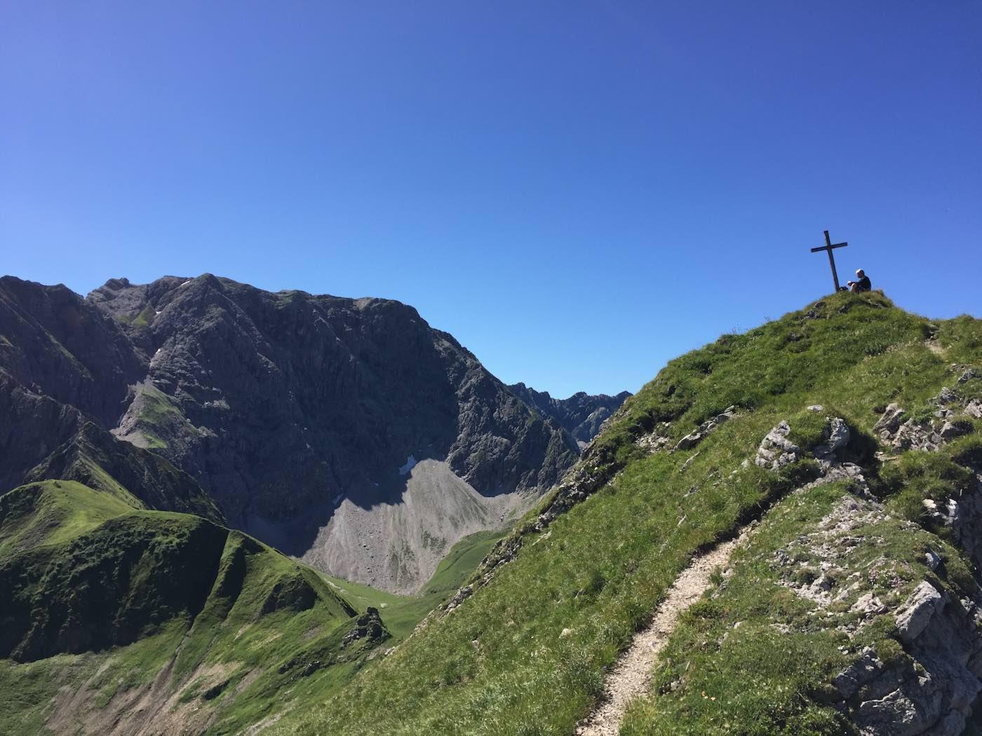 Gipfelkreuz der Heubatspitze