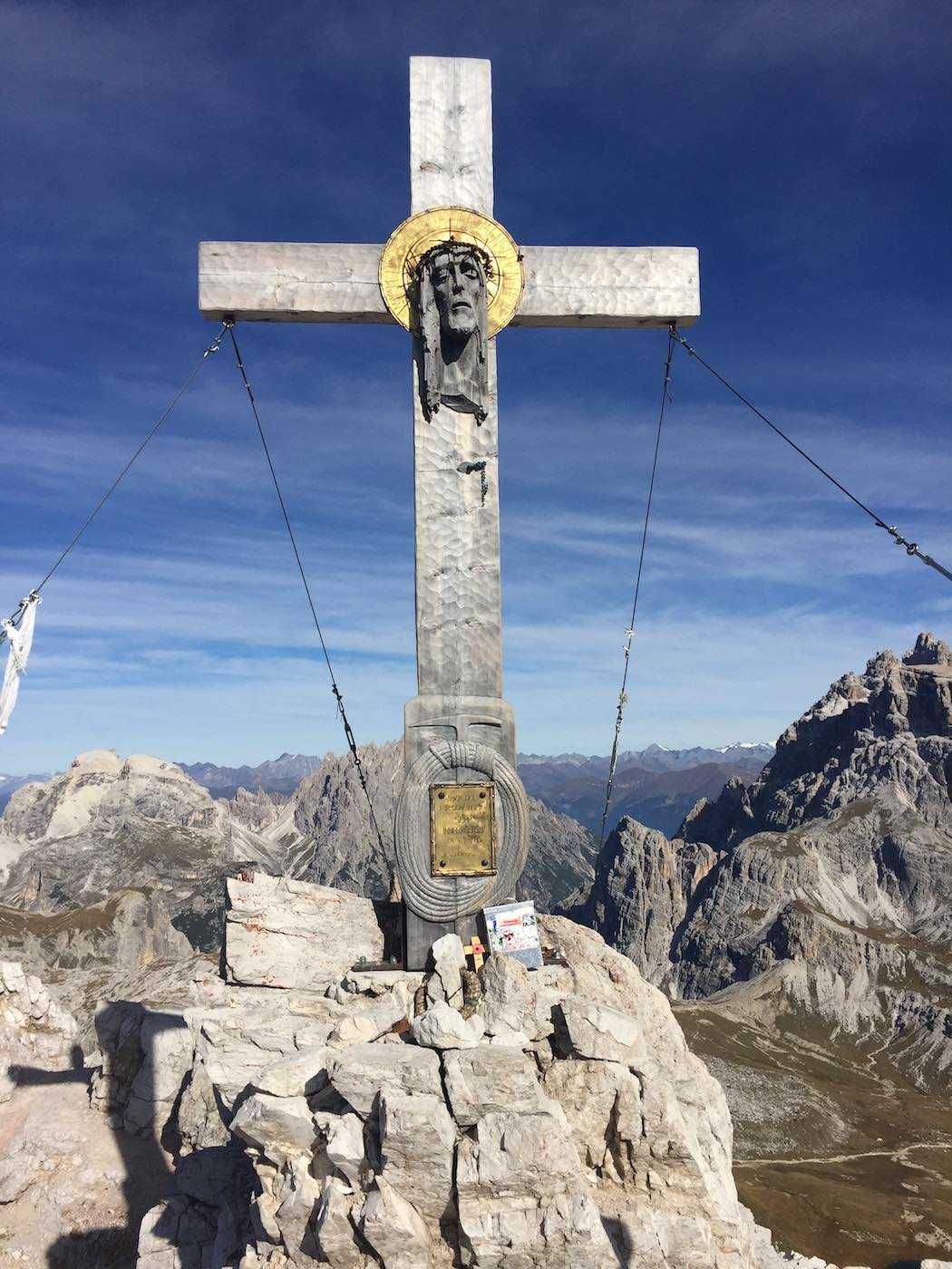 Gipfelkreuz des Paternkofel