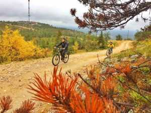Mountainbiking in Ruka