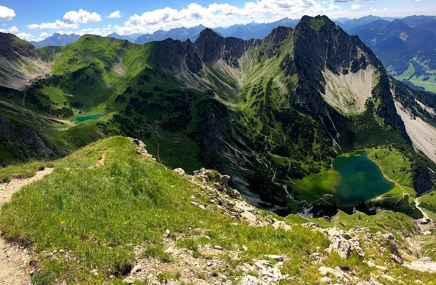 Panorama vom Rücken des Entschenkopf