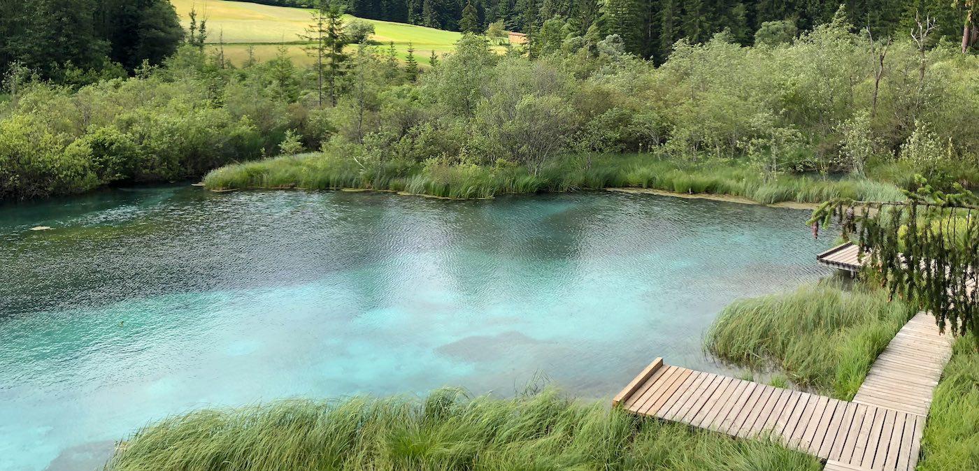 Natürschönheiten entlang des Alpe Adria Trails