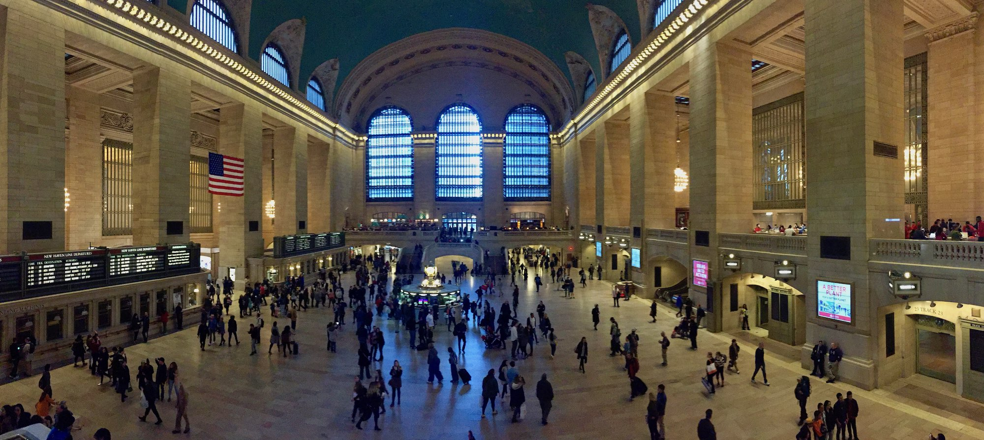 Das Grand Central Terminal in New York