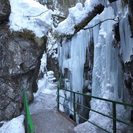 Winter in der Breitachklamm